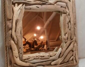 driftwood mirror wall mirror home decor natural driftwood mirror driftwood wall art
