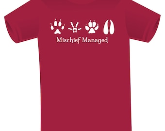 Harry Potter - Mischief Managed t-shirt - Christmas in July - CIJ