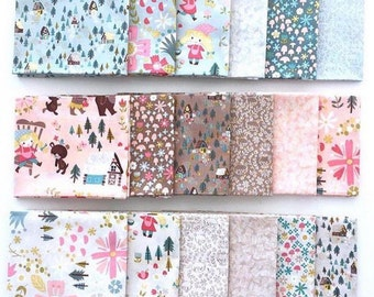 Goldilocks by Jill Howarth by Riley Blake Designs - 1/2 Yard Bundle - 18 fabrics