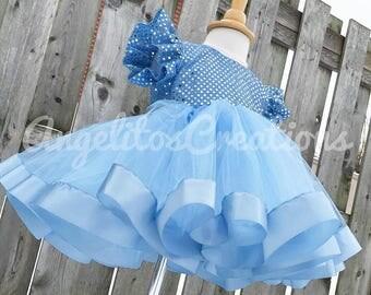 Birthday dress - Sequin pageant infant dress - Wedding Baby dress - toddler flower girl dress - CUSTOM MADE