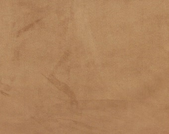 Light Brown Suede Upholstery Grade Fabric By The Yard | Pattern # C055