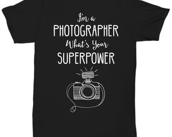 Photographer / Photography T-shirt - Shoot Edit Smile Repeat