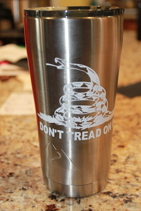 Dont tread on me decal, 2nd Amendment Decal, Decals for men, 2 amendment decals, yeti decal for man, Navy decal, Marine, Army, 30 oz decal