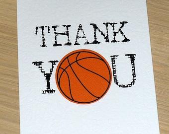 Thank you Coach card - team manager - sports- soccer football basketball netball - handmade thank you card
