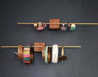 Minimalist Wood Jewelry Blocks