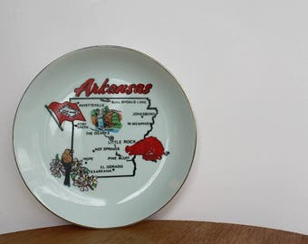 Arkansas State Plate, souvenir state plate