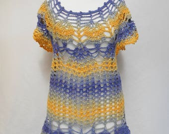 crocheted summer top