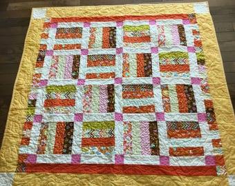 Baby quilt #302