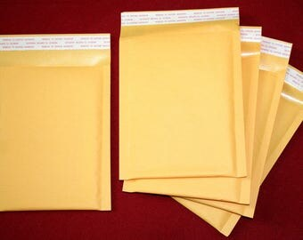 Padded bubble mailer mailing envelopes 10 count 5x7, 5x8 shipping supplies