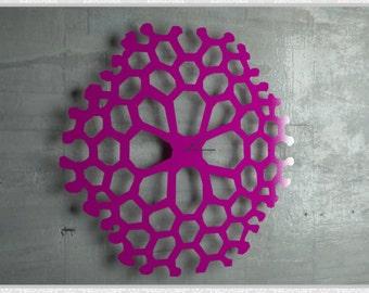 Wall Decoration Laser Cut Metal Clock