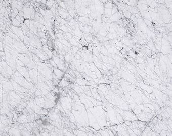 Vinyl Backdrop white marble / Delicate white marble Photography Backdrop (V3045)