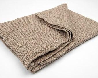 Brown linen bathroom towel, brown linen towel, pure linen towel, rustic linen towel, flax towel, eco friendly towel, flax bathroom towel