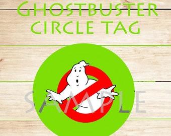 INSTANT DOWNLOAD / GHOSTBUSTER round sticker!