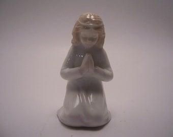 Little Girl in Prayer Figurine