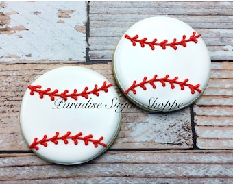 Baseball Decorated Cookies - 1 Dozen