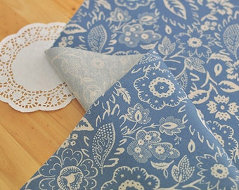 Wide Laminated Linen Cotton Fabric,Sewing,Waterproof fabric, picnic mat, waterproof tablecloth,Koreafabric,Priced By the yard.(Le-256)
