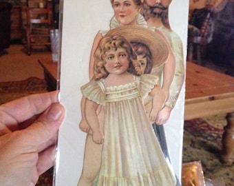 Vintage Paper Doll Set