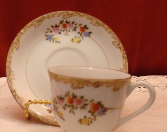 Dainty Cup and Saucer made in Japan