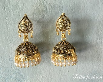 Belly dance, Indian jewelry, Bellydance, Indian perfect earrings