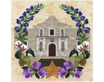 P3 Designs American Album Quilt Block 9 for Texas P3-2009