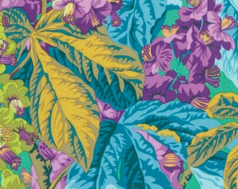 1/2 Yard Horse Chestnut in Green by Philip Jacobs fabric PJ084