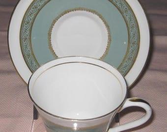 AYNSLEY Gretna English Bone China Cup and Saucer