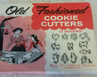 Old Fashioned Cookie Cutters