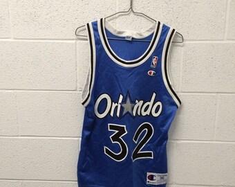 Vintage Orlando Magic Oneal Champion jersey