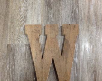 Barn Wood Letters measuring 12 inches tall, barn wood letters, rustic letters, rustic decor, rustic letter,barn letters, barn wood, rustic