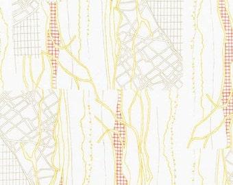 Friedlander - The Cattle Print Wasabi - Carolyn Friedlander - Robert Kaufman (AFR-16607-371)