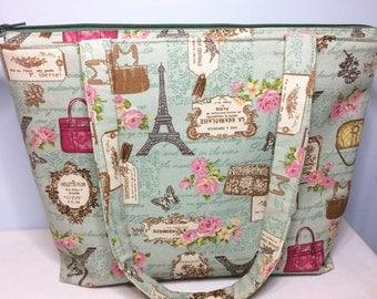 Medium 'Parisian' Tote Bag