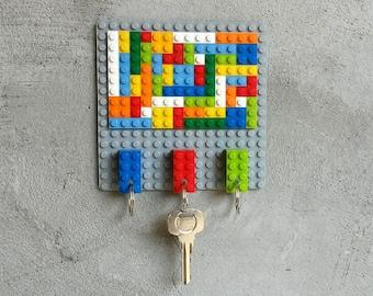 Small Mozaic LEGO® Key Hanger