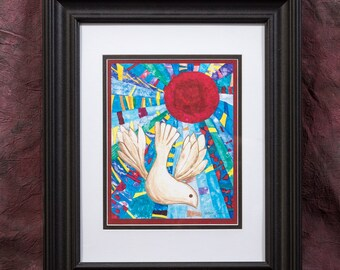 Framed Print: The Colors of Peace