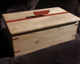 Butternut and Bloodwood Box