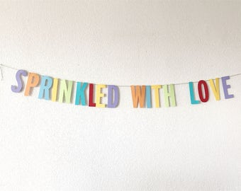 Sprinkled with Love Garland (Neutral)
