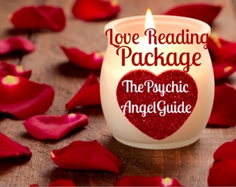 Love Reading package 2 question plus Tarot & Oracle Reading in Live VIDEO and JPG