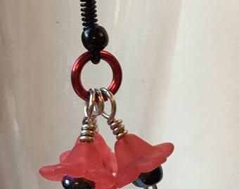 Poppy Style Dangle Earrings