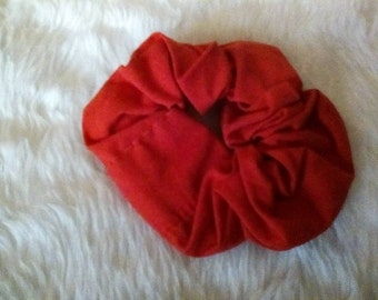 Red Hair Scrunchie