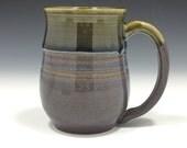 Blue Green Amber Brown Mug (Large - 22 oz.)