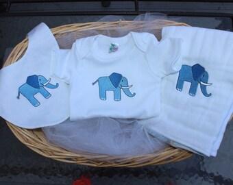 Elephant Onesie set