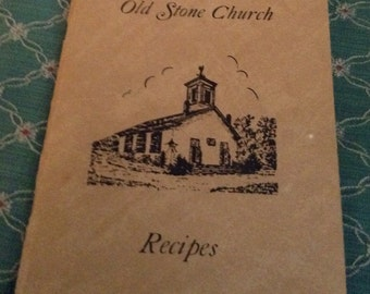 Old Stone Church Rhode Island Cookbook