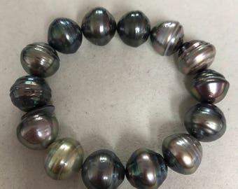 18mm to 15mm Tahitian Pearls Bracelets