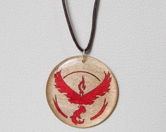pokemon necklace red team