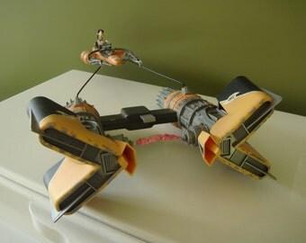 Star Wars Episode 1 -The Phantom Menace - Sebulbas Pod Racer Complete w/ Exclusive Figure - 1999