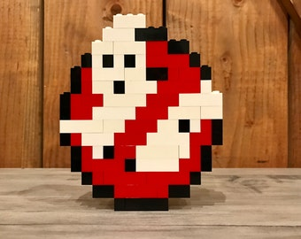 Ghostbusters Logo - Lego Sculpture