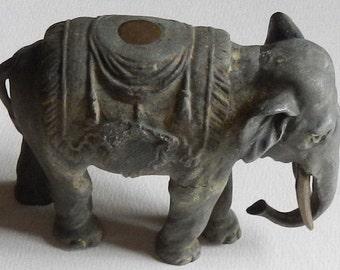 Antique Metal Elephant!