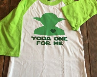 Yoda One for Me Shirt