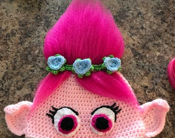 Trolls hat (Princess Poppy)