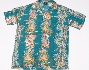 Vintage Hawaiian 90s Short Sleeved Shirt