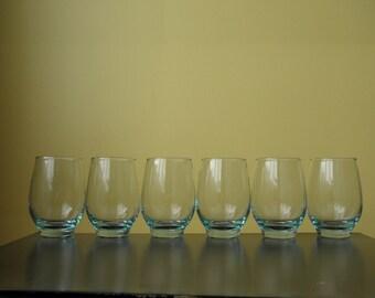 Vintage Libbey - Aqua Tempo - Beverage Glass - 12oz - 1960s